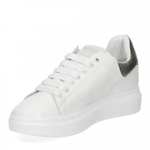 Nira Rubens Angel ALST32 sneaker stella white gold-4