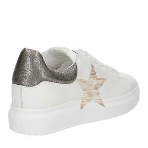 Nira Rubens Angel ALST32 sneaker stella white gold-5