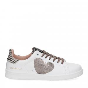 Nira Rubens Daiquiri DACU207 sneaker cuore black white glitter-2