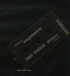 stainless razor saw (asymetric)