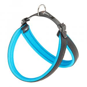 AGILA ERGOFLUO Pettorina ergonomica per cani con morbida imbottitura e chiusura a doppia microregolazione. Varie misure e colori