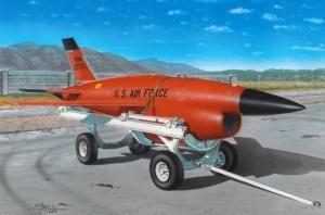 BQM-34 Firebee with transport cart