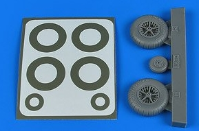 Me108 Wheels & Paint Masks