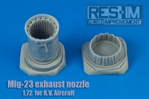 MiG-23 Exhaust nozzle