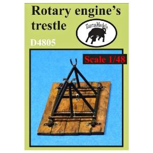 ROTARY ENGINE'S TRESTLE