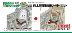 WW2 IJA Aircraft Seatbelt Set