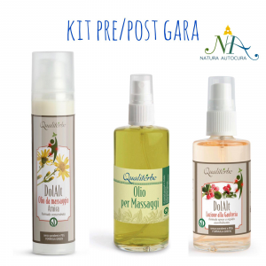 Kit Pre e Post Gara -20% con codice: naturautocura