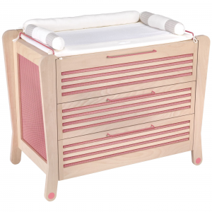 Cassettiera rosa - Albero Bambino