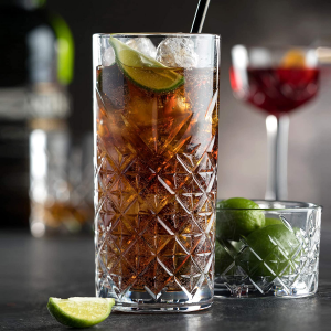 Set 12 pezzi bicchieri in vetro long drink Timeless cl 36,5