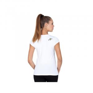 T-Shirt Donna Roll Line Bianco