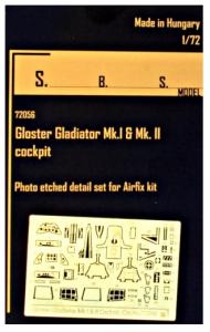 Gl.Gladiator Mk.I&Mk.II interior PE set