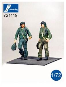 RAF Pilots standing