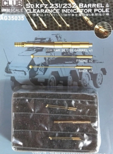 SD.KFZ. 231-232 TURNED BARREL