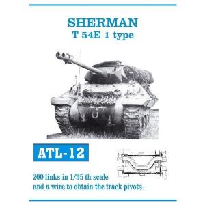 SHERMAN T 54E 1 TYPE