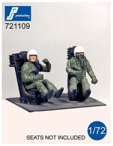 US Pilots seated