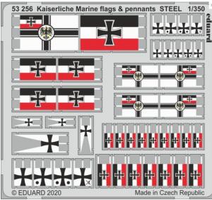 Kaiserlische Marine Flags & Pennants Steel