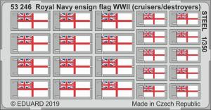 Royal Navy ensign flag WWII