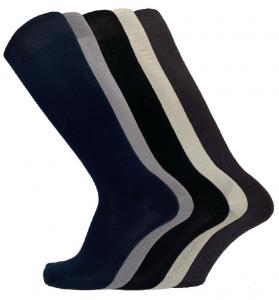 6 Paia di calzini da uomo luoghi  in filo di Scozia FASHION TRADE