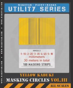 100 masking stripes