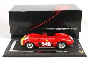 Ferrari 290 Mm Winner Mille Miglia 1956 #548 With Case Limited 200 Pcs 1/18