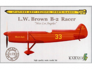 B-2 RACER L.W. BROWN