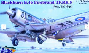 Blackburn B.46 Firebrand TF Mk.5 FAA, 827 Sqn