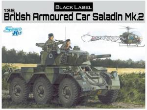 British Armoured Car Saladin Mk.2