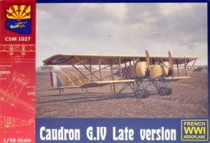 Caudron G. IV Late version