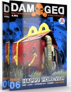 DAMAGED MAGAZINE ISSUE 06