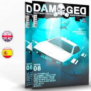 DAMAGED MAGAZINE ISSUE 08