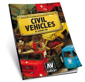 Dipingere i veicoli civili (LIBRO, 120 pagine A4, lingua inglese) By Eugen Tur
