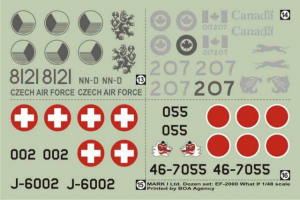 EF-2000 TYPHOON C&M 'WHAT IF' (1/48 DECALS)