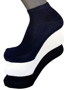 6 Paia di calzini corti unisex in cotone filo di Scozia VIRTUS