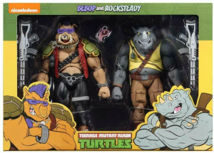 Teenage Mutant Ninja Turtles: Action Figure Animated Serie - Wave 2 Rocksteady & Bebop by Neca