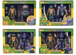 Teenage Mutant Ninja Turtles: Action Figure Animated Serie - Wave 1 completa by Neca