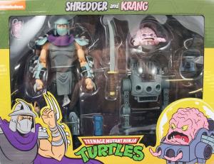 Teenage Mutant Ninja Turtles: Action Figure Animated Serie - Wave 2 Shredder & Krang by Neca