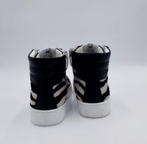 Sneaker Bask black zebra Womsh