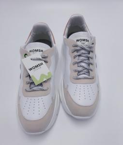 Sneaker Vegan wave white rose Womsh