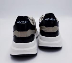 Sneaker Wave camel black Womsh