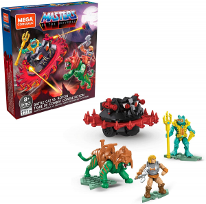 Masters of the Universe - Mega Construx: BATTLE CAT VS. ROTON by Mattel