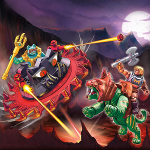 Masters of the Universe - Mega Construx: BATTLE CAT VS. ROTON by Mattel