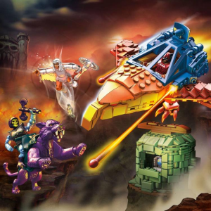 Masters of the Universe - Mega Construx: PANTHOR AT POINT DREAD by Mattel