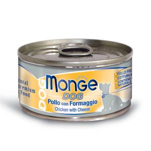 MONGE DOG NATURAL 95gr - 6pezzi