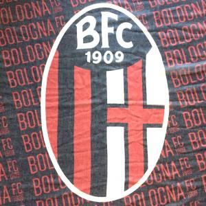 SCIARPA PASHMINA ROSSOBLÙ Bologna Fc
