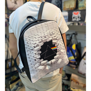 Ecoleather & Fabric Man Backpack