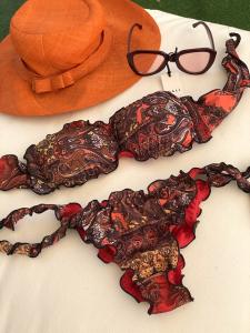 Bikini Fascia e slip nodi brasiliano regolabile Frou Frou Atmosphera Effek