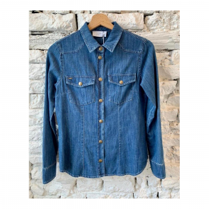 CAMICIA SLIM DENIM
