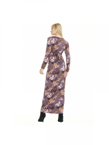 Abito donna lungo etnico | abbigliamento donna inverno