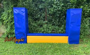 Muro Agility totalmente in gomma piuma regolabile in più misure, Dell'Agoghè