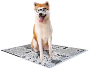 Croci Tappetino igienico per cani  Super Nappy Newspaper confezione da 30 o 60pz